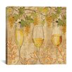 """<strong>iCanvasArt</strong> """"Wine Harvest I"""" Canvas Wall Art by Anne Tavoletti"""