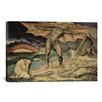 iCanvas 'The Examination of Hiob' by William Blake Painting Print on Canvas