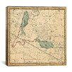 iCanvasArt Celestial Atlas - Plate 22 (Pisces) by Alexander Jamieson Graphic Art on Canvas in Beige