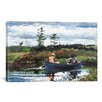 iCanvas 'The Blue Boat 1892' by Winslow Homer Painting Print on Canvas