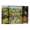 iCanvasArt 'The Garden of Earthly Delights 1504' by Hieronymus Bosch Painting Print on Canvas