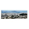 iCanvas San Francisco Panoramic Skyline Cityscape Photographic Print on Canvas in Multi-color