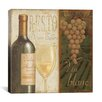 "iCanvas ""Wine List"" Canvas Wall Art by Daphne Brissonnet"