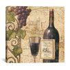 "iCanvas ""Wine Tasting III"" Canvas Wall Art by John Zaccheo"