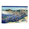 iCanvasArt 'The Fuji from Kanaya on the Tokaido (Tokaido Kanaya no Fuji)' by Katsushika Hokusai Painting Print on Canvas