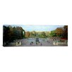iCanvas Panoramic Bethesda Fountain, Central Park, Manhattan, New York City, New York State Photographic Print on Canvas