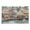 "iCanvas ""San Pedro Harbor"" Canvas Wall Art by Stanton Manolakas"
