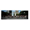 iCanvas Panoramic Washington Square Arch, Washington Square Park, Manhattan, New York City Photographic Print on Canvas
