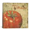 "iCanvas ""Tomates"" Canvas Wall Art by Daphne Brissonnet"