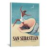 <strong>Vintage Posters 'San Sebastian' Vintage Advertisement on Canvas</strong> by iCanvasArt