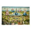 iCanvas 'Top of Central Panel from the Garden of Earthly Delights' by Hieronymus Bosch Painting Print on Canvas