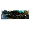 iCanvasArt Panoramic Cafe Du Monde, Decatur Street, French Quarter, New Orleans, Louisiana Photographic Print on Canvas