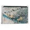 "iCanvas ""Shono from the Fifty-Three Stations on Tokaido Highway"" Canvas Wall Art by Utagawa Hiroshige l"