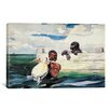 iCanvas 'The Turtle Pound 1898' by Winslow Homer Painting Print on Canvas