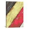 iCanvas Vintage Style #3 Canvas Print Wall Art