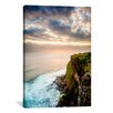"iCanvasArt ""The West Cliff"" Canvas Wall Art by Dan Ballard"