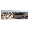 iCanvasArt Panoramic 'Wailing Wall, Dome of the Rock, Temple Mount, Jerusalem, Israel' Photographic Print on Canvas