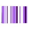 iCanvas Irises Striped Graphic Art on Canvas