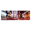 iCanvas Panoramic Times Square, New York City, New York State Photographic Print on Canvas