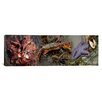 <strong>iCanvasArt</strong> Panoramic Sea Critters Photographic Print on Canvas