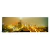 iCanvas Panoramic Georgia, Atlanta, Fog in Atlanta Photographic Print on Canvas
