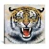 """iCanvas """"Tiger"""" Canvas Wall Art by Harro Maass"""