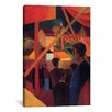 iCanvas 'Tightrope Walker' by August Macke Painting Print on Canvas
