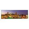 iCanvas Maryland, Baltimore, City at Night Viewed from Federal Hill Park Photographic Print on Canvas