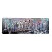 iCanvas Vancouver, Canada Skyline Panoramic 4 Graphic Art on Canvas