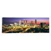 iCanvas Panoramic Skyline, Evening, Dusk, Illuminated, Atlanta, Georgia Photographic Print on Canvas