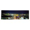 iCanvas Panoramic Skyline, Las Vegas, Nevada Photographic Print on Canvas