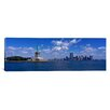 iCanvas Panoramic New York, Statue of Liberty Photographic Print on Canvas