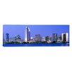 iCanvasArt Panoramic Skyline, San Diego, California Photographic Print on Canvas