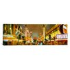 iCanvas Panoramic Nevada, Las Vegas, Night Photographic Print on Canvas