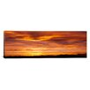 iCanvas Panoramic Sky at Sunset, Daniels Park, Denver, Colorado Photographic Print on Canvas