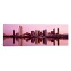 <strong>iCanvasArt</strong> Panoramic Skyline San Diego, California Photographic Print on Canvas