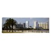 iCanvas Panoramic Skyline Tampa FL Photographic Print on Canvas