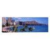 iCanvasArt Panoramic Waikiki Beach, Honolulu, Hawaii Photographic Print on Canvas