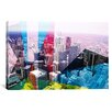 iCanvasArt Toronto's Financial District, Canada 2 Graphic Art on Canvas