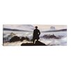 iCanvasArt 'The Wanderer Above the Sea of Fog' by Caspar David Friedrich Painting Print on Canvas