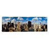 <strong>iCanvasArt</strong> Panoramic Skyline From Lake Michigan, Chicago, Illinois Photographic Print on Canvas