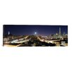 iCanvas Panoramic 'San Francisco Panoramic Skyline Cityscape (Night)' Photographic Print on Canvas