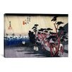 "iCanvas ""Tokaido Oiso"" Canvas Wall Art by Utagawa Hiroshige l"