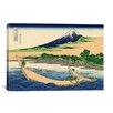 iCanvas 'Shore of Tago Bay, Ejiri at Tokaido' by Katsushika Hokusai Painting Printon Canvas