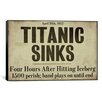 iCanvas Titanic Canvas Wall Art