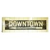 <strong>iCanvasArt</strong> Panoramic New York City, Subway Sign Photographic Print on Canvas