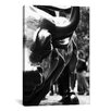 iCanvasArt Political Wall Street Bull Close-up Photographic Print on Canvas