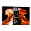 iCanvasArt Photography Violin Graphic Art on Canvas