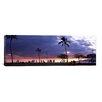 iCanvasArt Panoramic 'Honolulu, Oahu, Hawaii' Photographic Print on Canvas