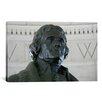 iCanvas Political Thomas Jefferson Statue Photographic Print on Canvas